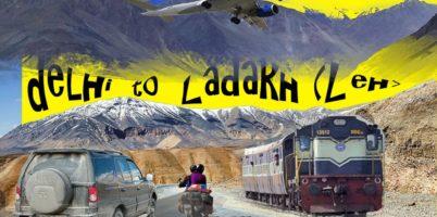 Delhi to Ladakh